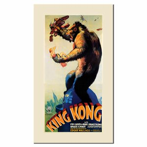 'King Kong' Vintage Advertisement on Canvas by Trademark Fine Art