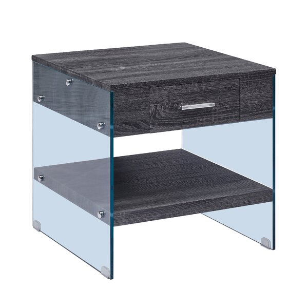 Caylor End Table with Storage by Orren Ellis
