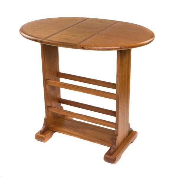 Teak Folding Solid Wood Coffee Table by Whitecap Teak