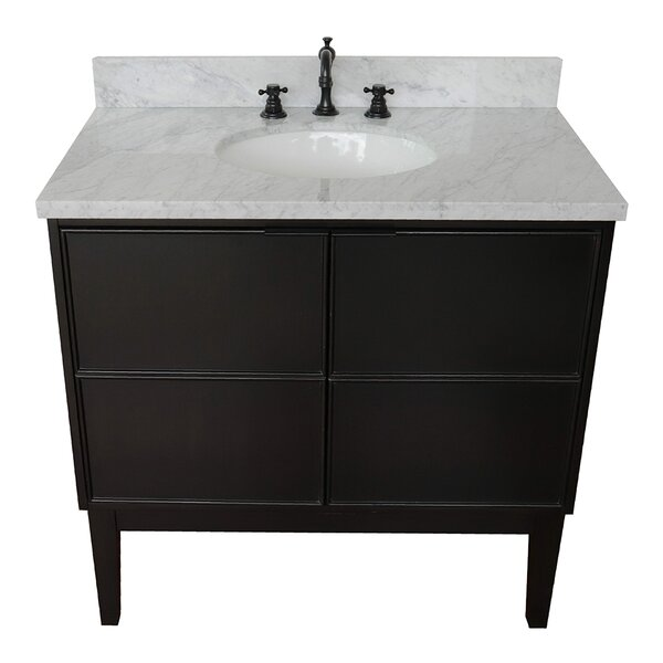 Saulsberry 37 Single Bathroom Vanity Set