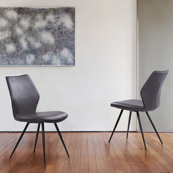 Petitt Upholstered Dining Chair (Set of 2) by George Oliver