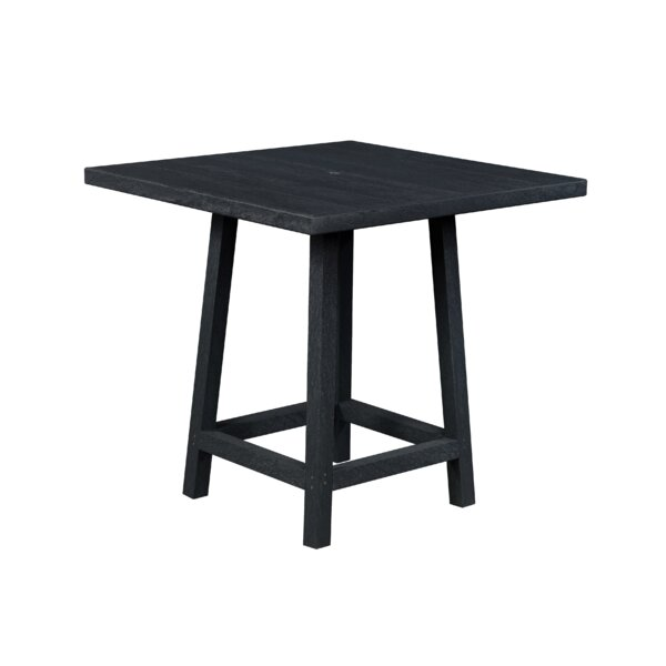William Plastic Bar Table by Beachcrest Home