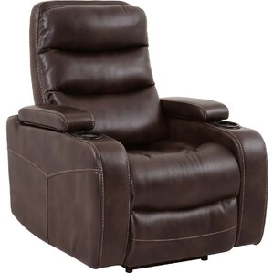 Dimas Power Recliner  sc 1 st  Wayfair & Power Recliner With Cup Holder | Wayfair islam-shia.org