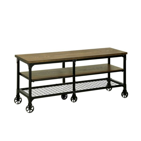 Joetta Industrial TV Stand for TVs up to 70