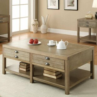 Salcido Coffee Table with Storage By Gracie Oaks