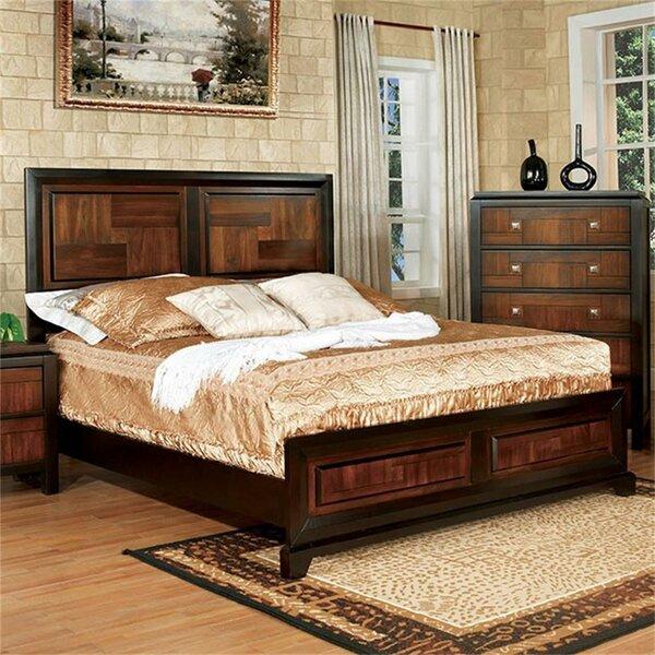 Aristoteles Platform Solid Wood Configurable Bedroom Set by Brayden Studio
