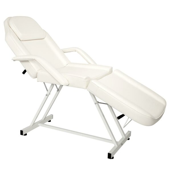 Adjustable Tattoo Portable Barber Reclining Full Body Massage Chair By Symple Stuff