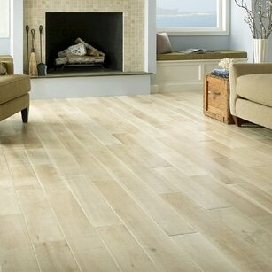 Antebellum 6 Engineered Oak Hardwood Flooring in Magnolia by Albero Valley