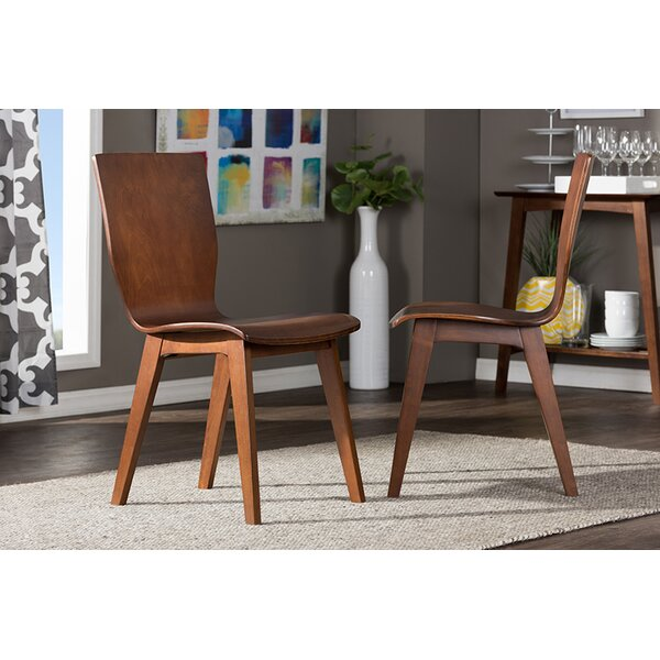#2 Senior Scandinavian Dining Chair (Set Of 2) By Ivy Bronx Wonderful