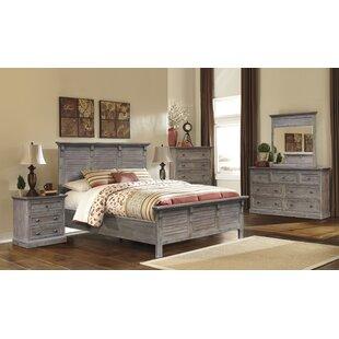 Pastrana Panel 5 Piece Bedroom Set