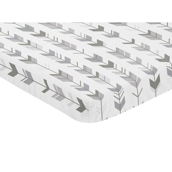 Mod Arrow Mini Fitted Crib Sheet by Sweet Jojo Designs