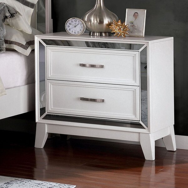 Iker 2 Drawer Nightstand by Rosdorf Park