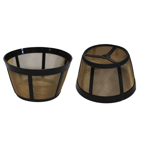 Replacement Basket Coffee Filter (Set of 2) by Crucial