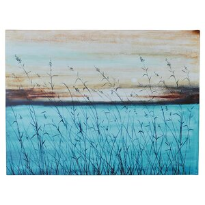 'Winterdaze' Painting Print on Wrapped Canvas by Highland Dunes
