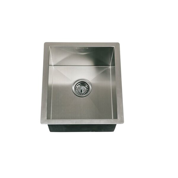 Sink Universal Mount 18 L x 16 W Drop-in Kitchen Sink with Faucet and Drain Assembly