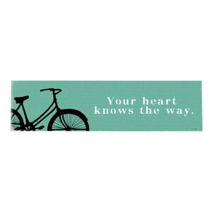 'Your Heart' Textual Art on Wood by Artehouse LLC