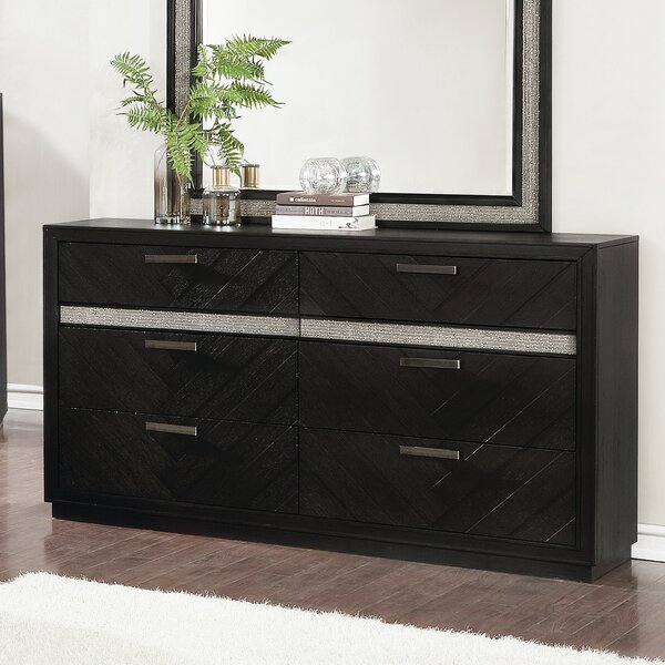 Aranmore 6 Drawer Double Dresser By Orren Ellis by Orren Ellis Best Design