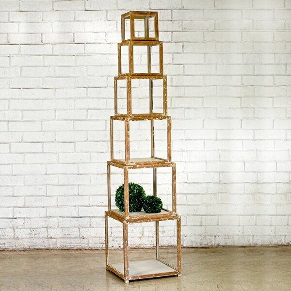 Alcide Piece Risers Cube Bookcase by Gracie Oaks
