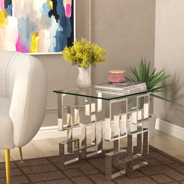 Jani End Table by Willa Arlo Interiors