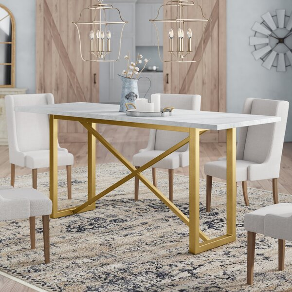 Brookby Place Dining Table by Foundry Select Foundry Select
