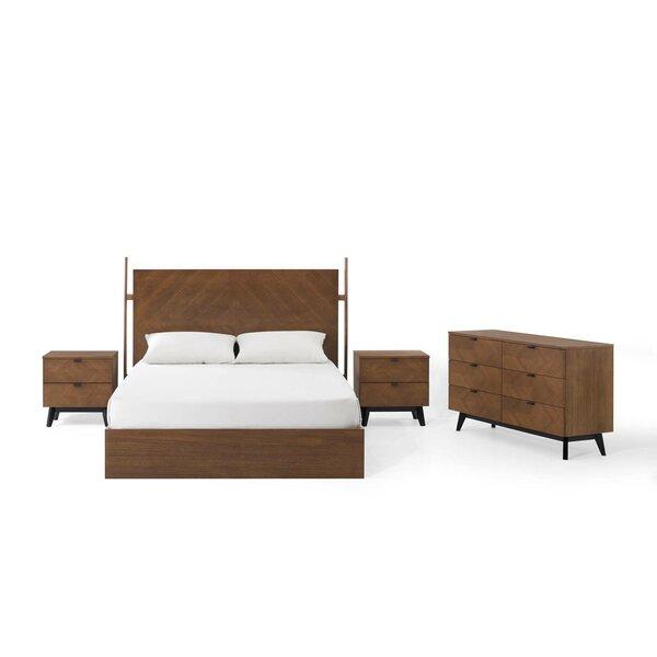 Antonelli Queen Platform 4 Piece Bedroom Set By Corrigan Studio