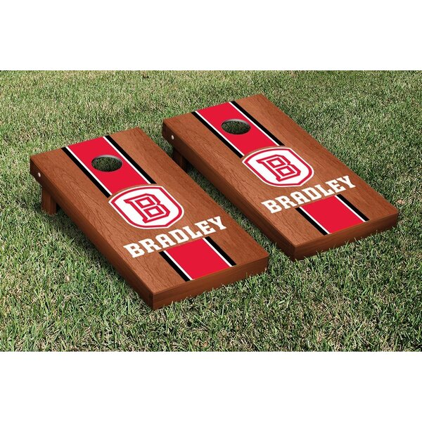 NCAA Stained Version Cornhole Game Set by Victory Tailgate