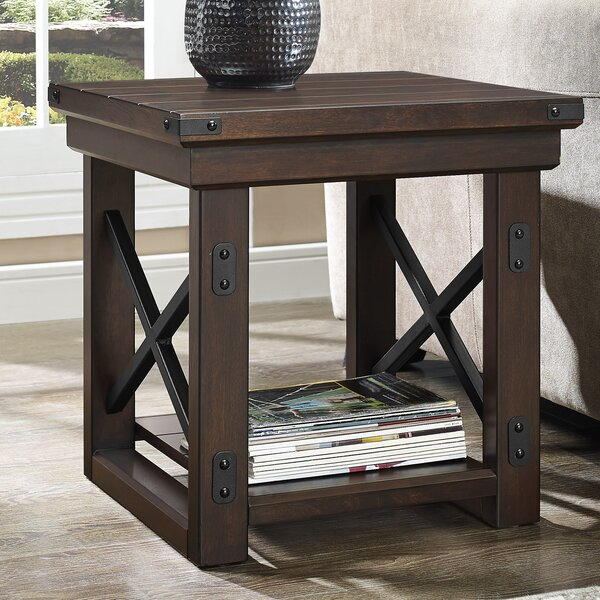 Pawhuska End Table by Loon Peak