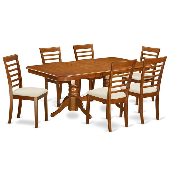 Pillsbury Modern 7 Piece Dining Set by August Grove