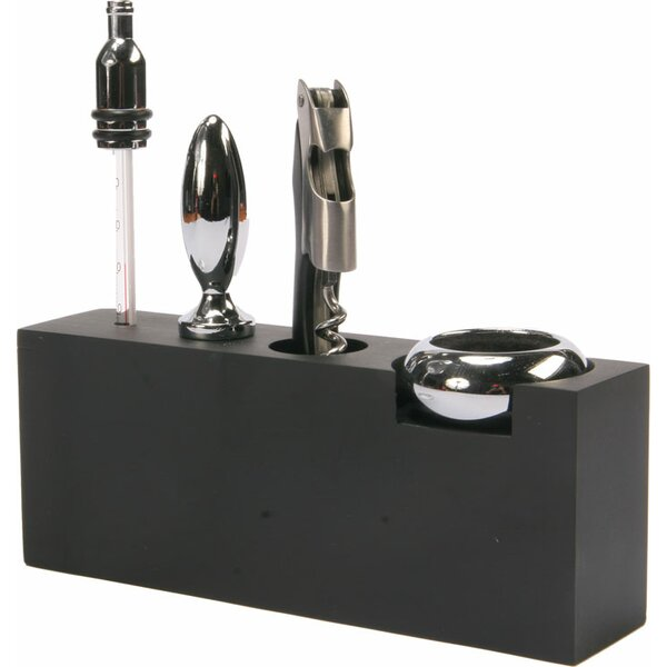 5 Piece Wine Accessory Bar Tool Set by Red Vanilla