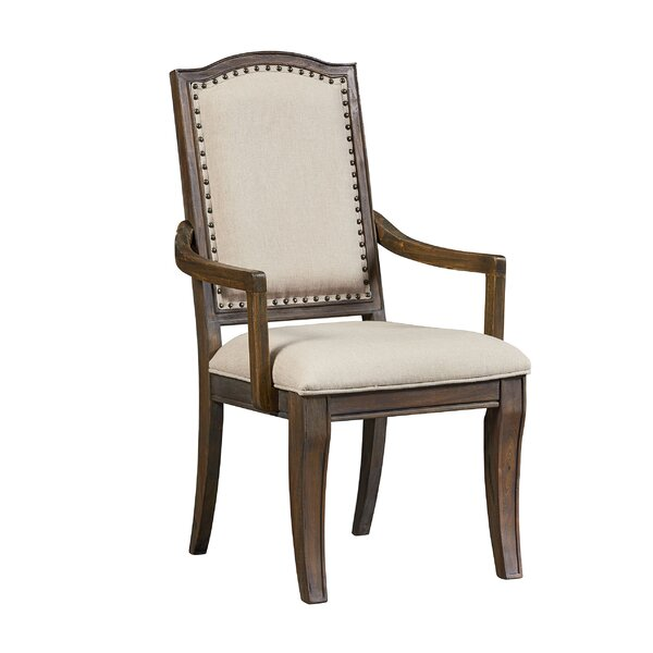 Dana Arm Chair (Set of 2) by Fleur De Lis Living