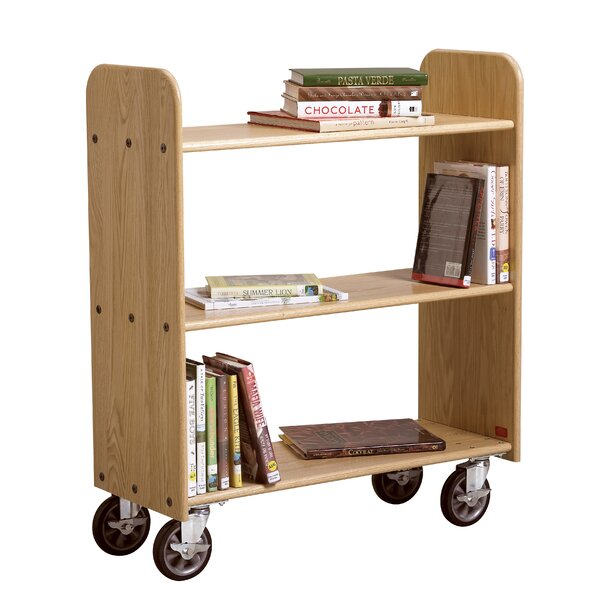 Mobile Series Book Cart by Diversified Woodcrafts