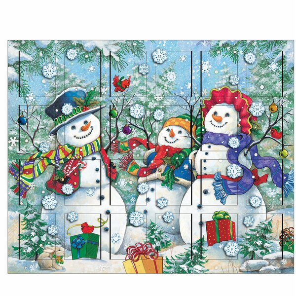 Snowman Advent Calendar by Byers' Choice