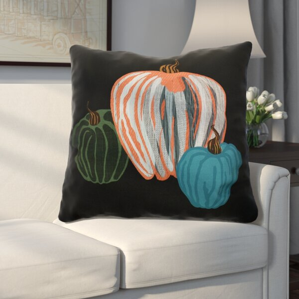 Miller Pumpkin Spice Geometric Euro Pillow by Alcott Hill