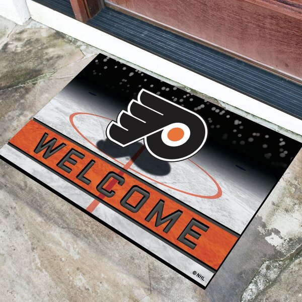NHL Rubber Doormat by FANMATS