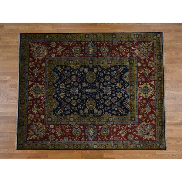 One-of-a-Kind Florine 300 Kpsi New Zealand Hand-Knotted 8' x 9'10