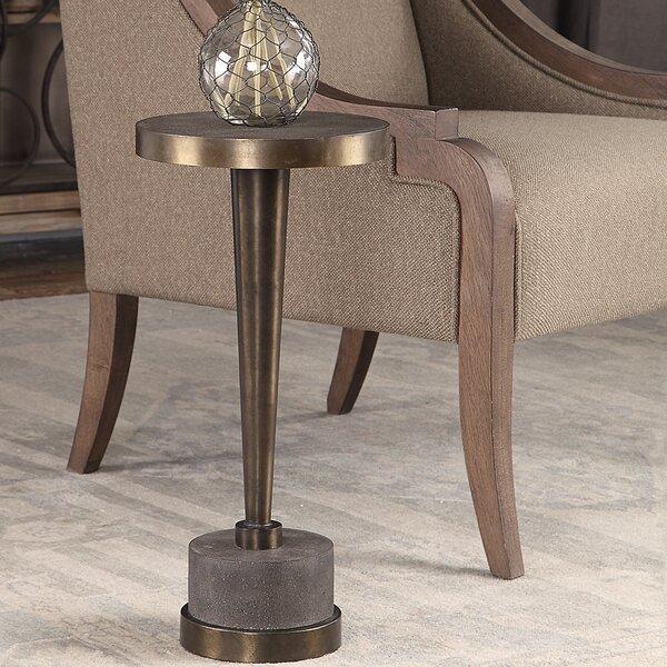 Reinaldo End Table by Williston Forge