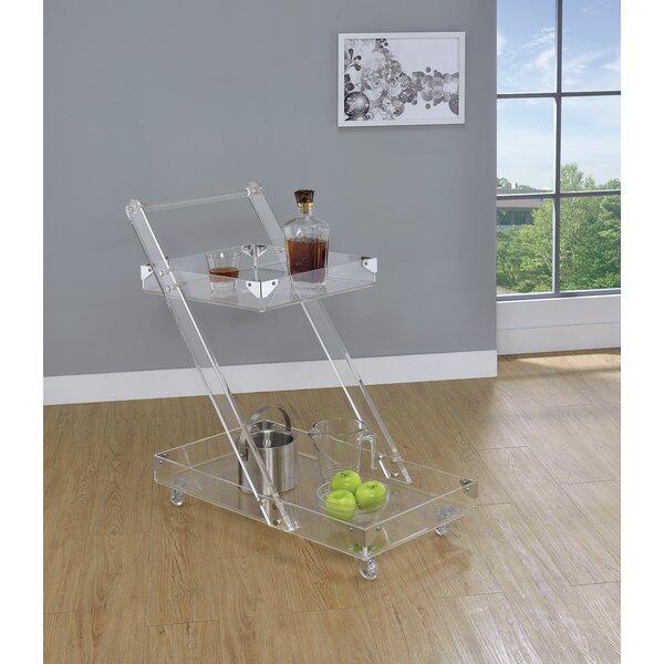 Labonte Serving Bar Cart by Orren Ellis Orren Ellis