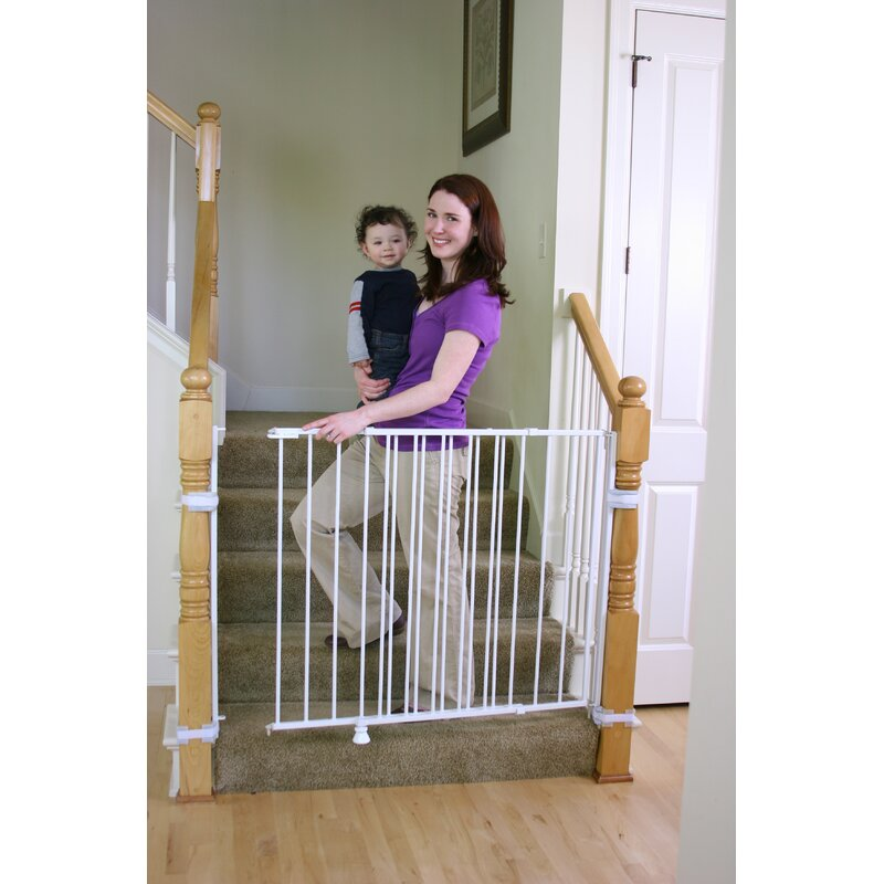 Regalo Top Of Stairs Extra Tall Safety Gate Reviews Wayfair