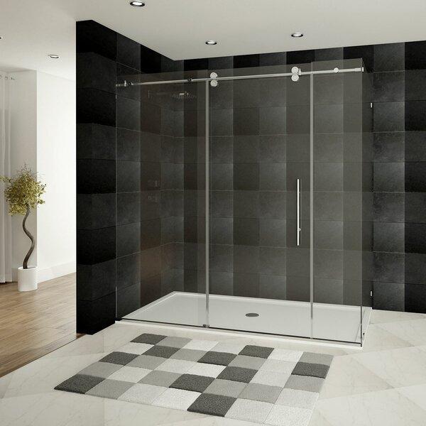 Ultra-D 68 x 79 Sliding Shower Door by LessCare