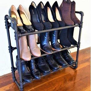 Affordable 3 Tier Shoe Rack ByWilliston Forge