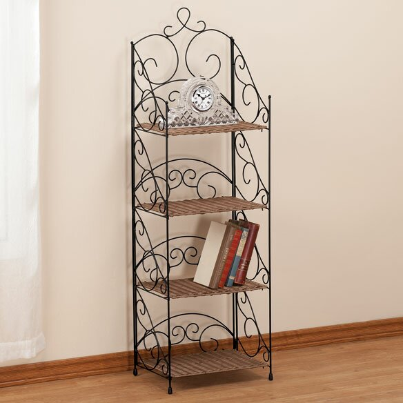 4 Tier Etagere Bookcase by Miles Kimball