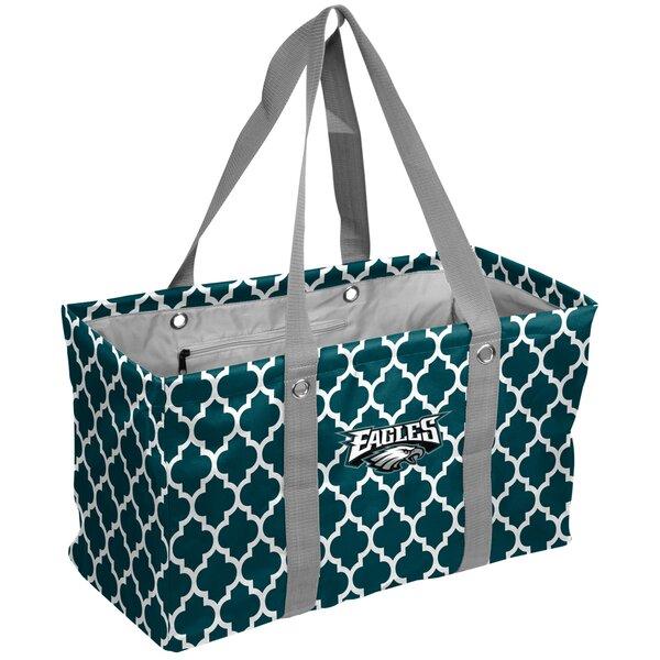 Quatrefoil Caddy Picnic Tote Bag by Logo Brands
