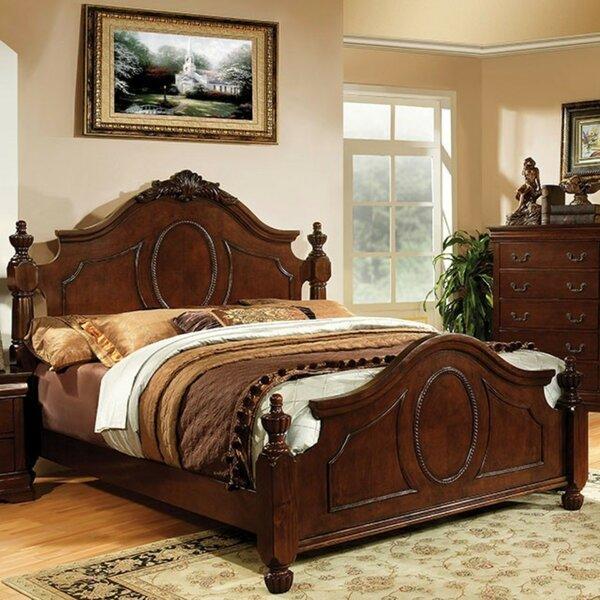 Ashlynn Luxurious Baroque Platform Bed by Astoria Grand