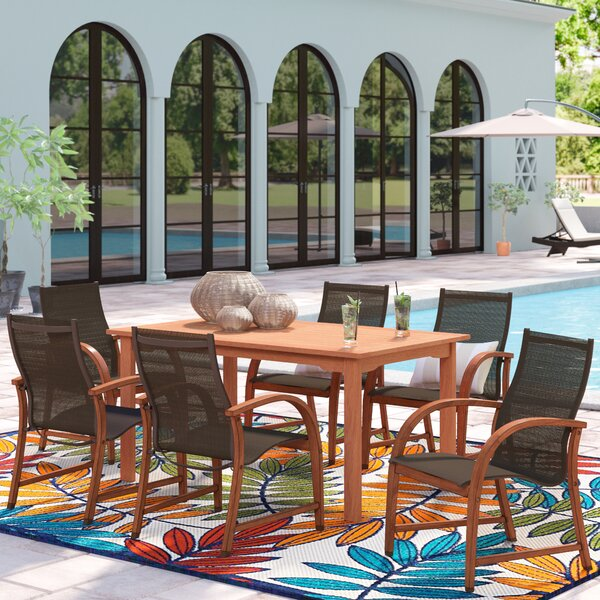 Ely 7 Piece Dining Set by Beachcrest Home Beachcrest Home