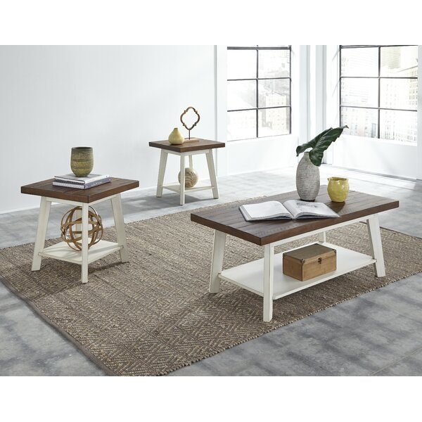 Funke 3 Piece Coffee Table Set by August Grove August Grove