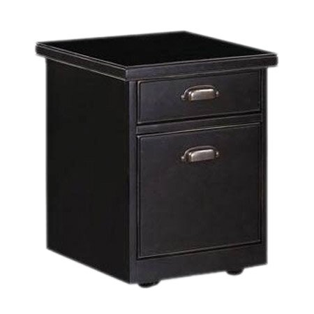 Tribeca Loft 2-Drawer Mobile Vertical File Cabinet by Martin Home Furnishings