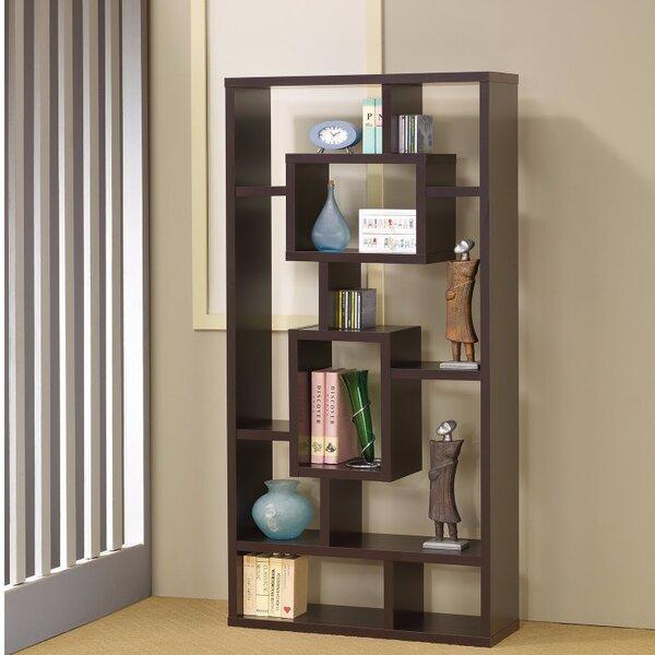 Cyrus Geometric Rectangular Cube Unit Bookcase by Wrought Studio