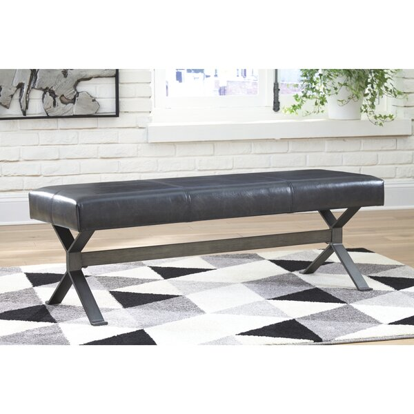 Piercy Upholstered Bench by Williston Forge