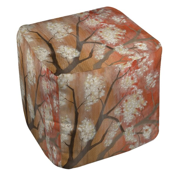 Mandarin Mist 1 Pouf by Manual Woodworkers & Weavers