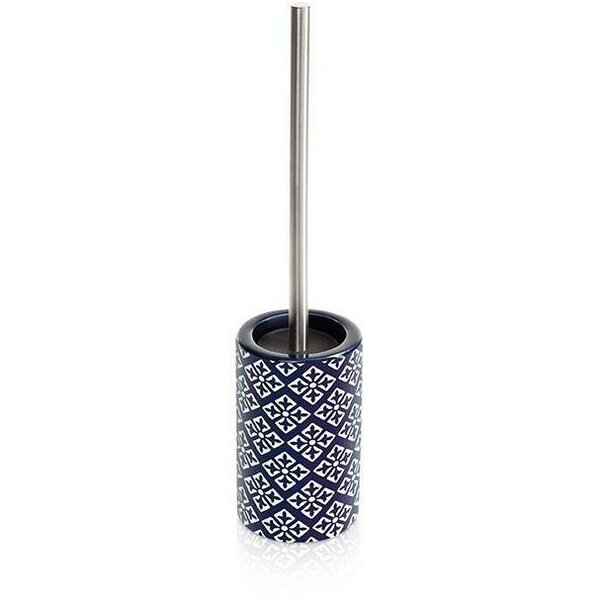 Vanmeter Ceramic Free Standing Toilet Brush and Holder by Bungalow RoseVanmeter Ceramic Free Standing Toilet Brush and Holder by Bungalow Rose
